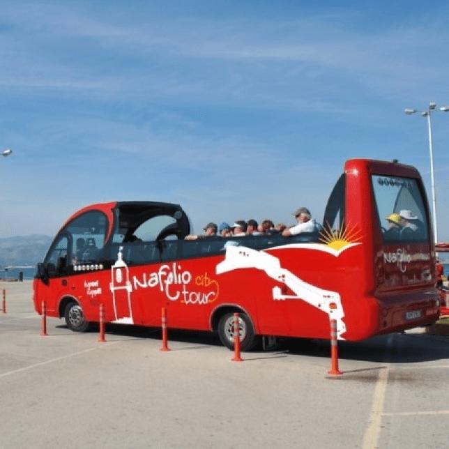 Ανακαλύψτε το Ναύπλιο με λεωφορείο
